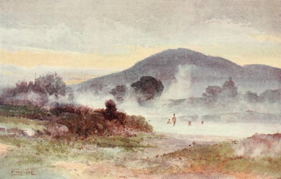 New Zealand, Painted and Described - Ngongotaha Mountain (1908)