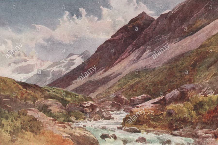 New Zealand, Painted and Described - In the Hooker Valley (1908)
