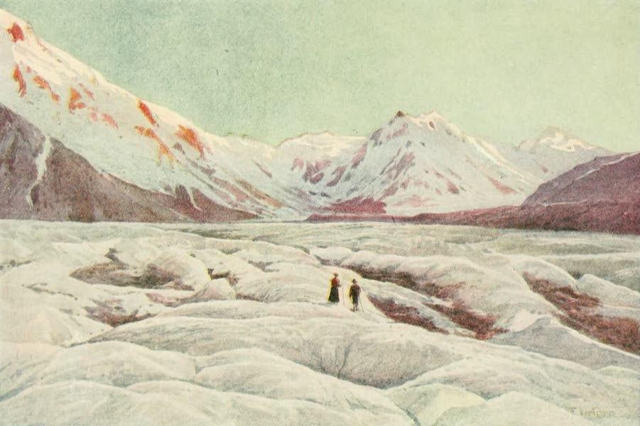New Zealand, Painted and Described - The Tasman Glacier (1908)