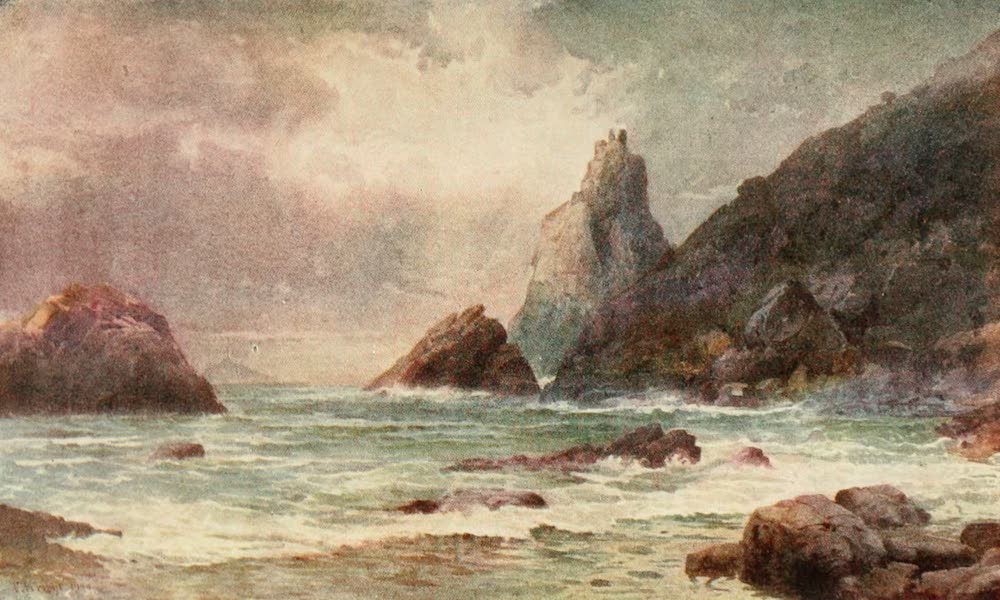 New Zealand, Painted and Described - Bream Head, Whangarei Heads (1908)