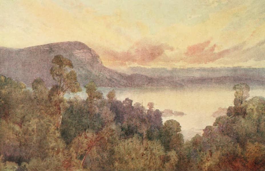 New Zealand, Painted and Described - Lake Waikare-Moana (1908)