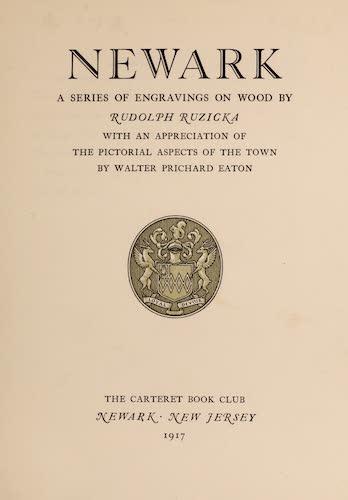 Columbia University - Newark; a Series of Engravings on Wood