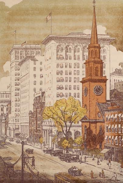 Newark; a Series of Engravings on Wood - Broad Street (1917)