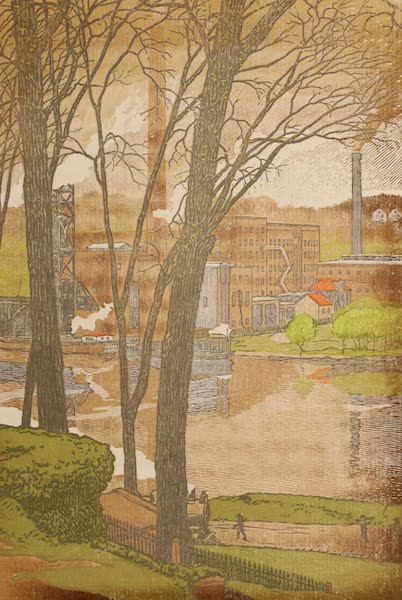 Newark; a Series of Engravings on Wood - The River Bank (1917)