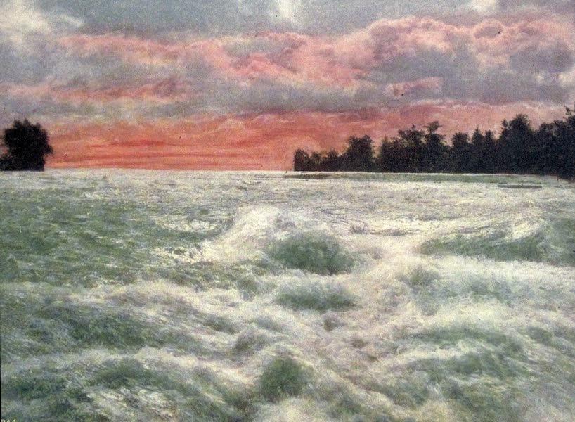 Niagara Falls, Nature's Throne - Rapids Above the Falls (1907)