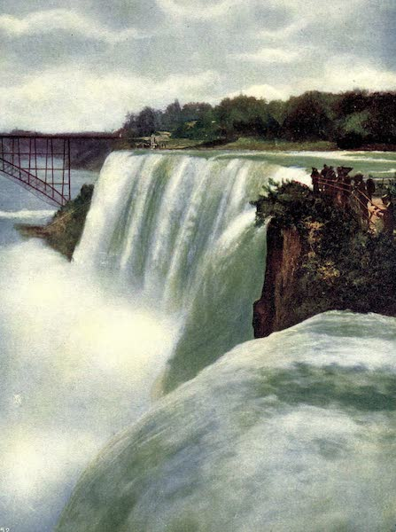 Niagara Falls, Nature's Throne - American Fall from Goat Island (1907)