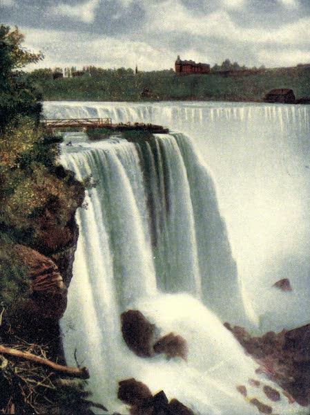 Niagara Falls, Nature's Throne - Terrapin Rock and Horseshoe Fall (1907)