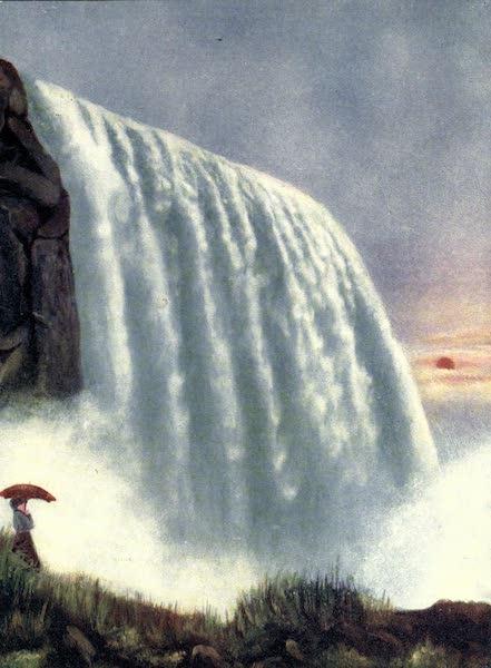 Niagara Falls, Nature's Throne - Below the American Fall (1907)