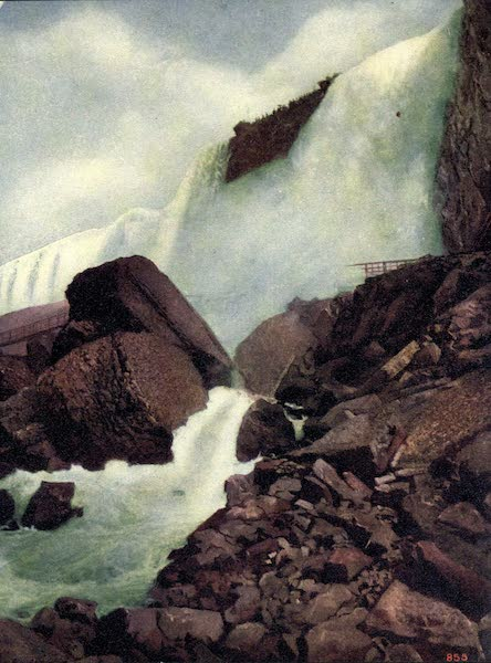 Niagara Falls, Nature's Throne - Rock of Ages (1907)