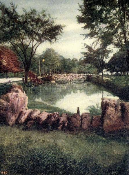 Niagara Falls, Nature's Throne - Bridge to Willow Island (1907)
