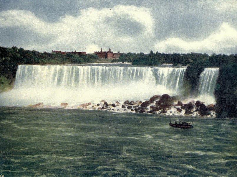 Niagara Falls, Nature's Throne - The American Fall from Canada (1907)