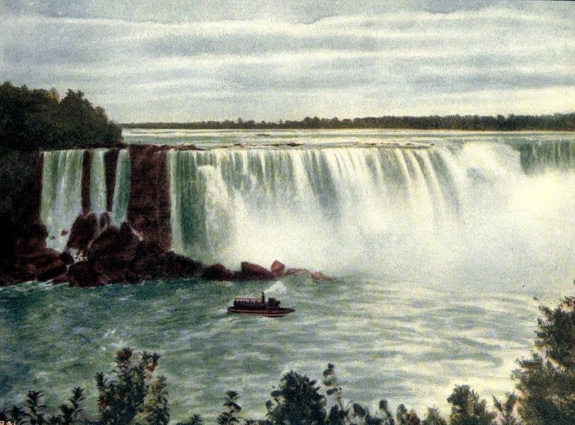 Niagara Falls, Nature's Throne - Terrapin Rock and Horseshoe Falls from Canada (1907)