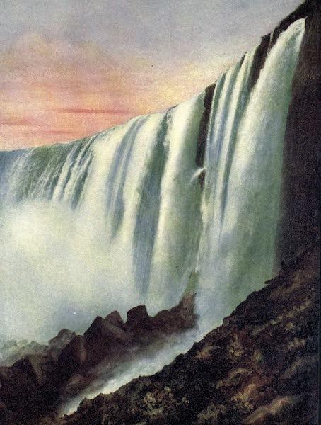 Niagara Falls, Nature's Throne - Horseshoe Falls from Below (1907)
