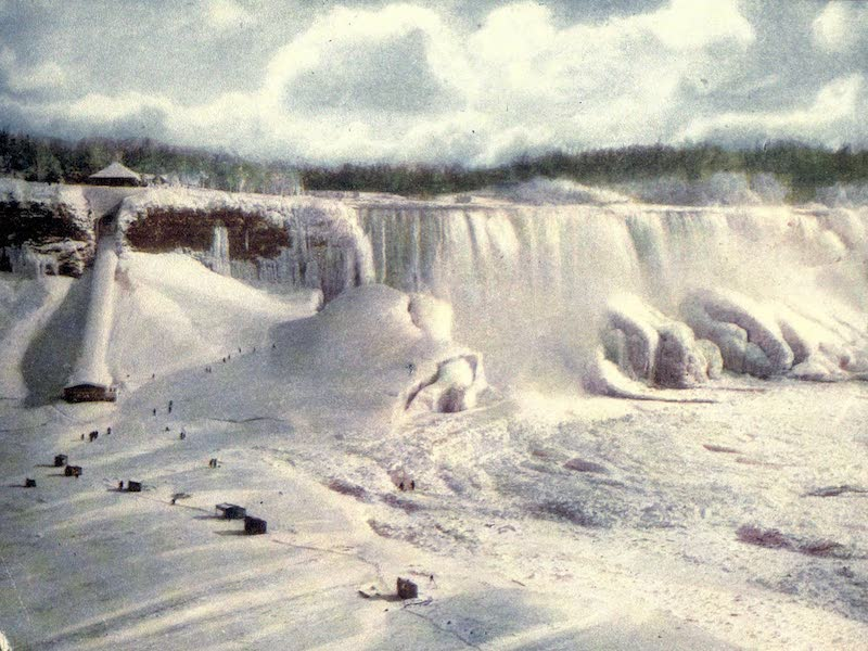 Niagara Falls, Nature's Throne - Ice Bridge and Mountain (1907)