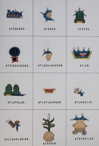 Nombres Geograficos de Mexico [Atlas] - Plate IV (1885)