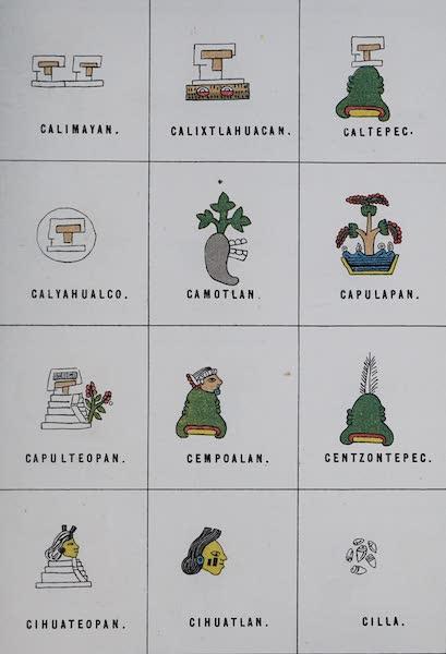 Nombres Geograficos de Mexico [Atlas] - Plate VI (1885)