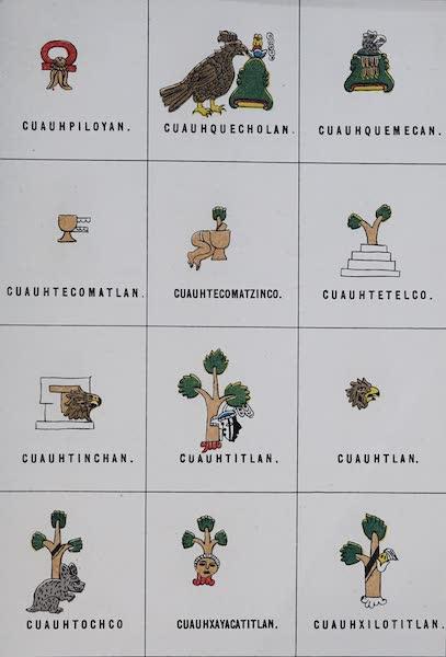 Nombres Geograficos de Mexico [Atlas] - Plate X (1885)