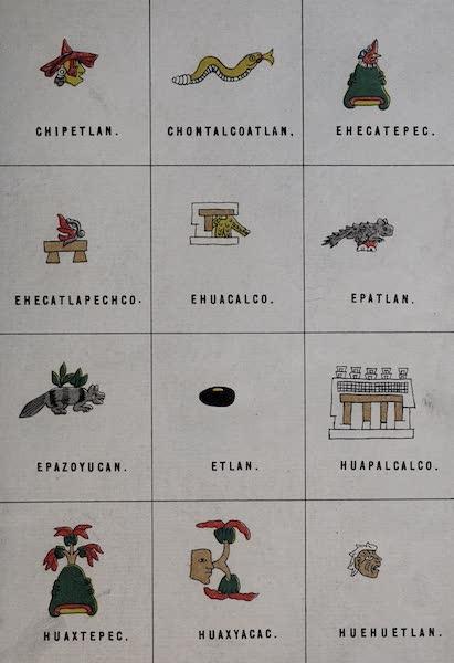 Nombres Geograficos de Mexico [Atlas] - Plate XIII (1885)