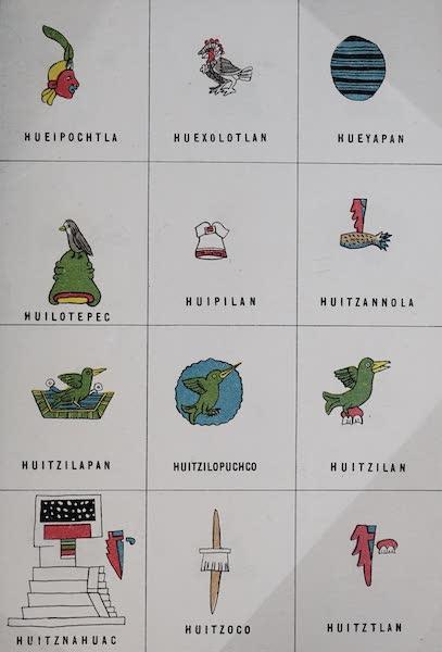 Nombres Geograficos de Mexico [Atlas] - Plate XIV (1885)