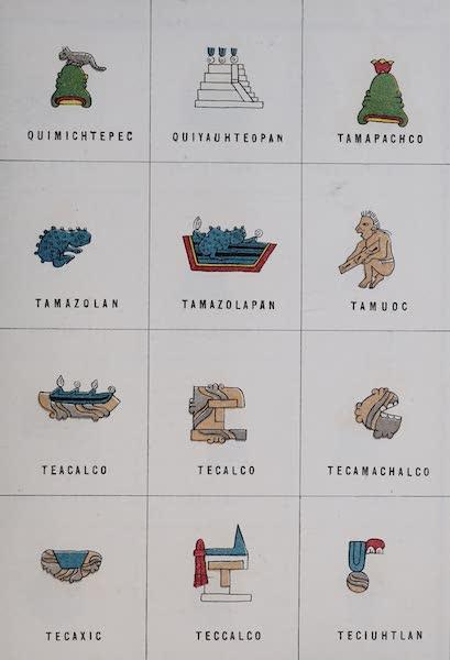 Nombres Geograficos de Mexico [Atlas] - Plate XXIII (1885)
