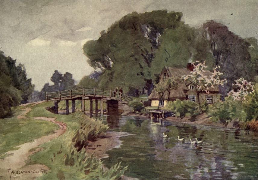 Norfolk and Suffolk Painted and Described - Flatford Bridge, Suffolk (1921)