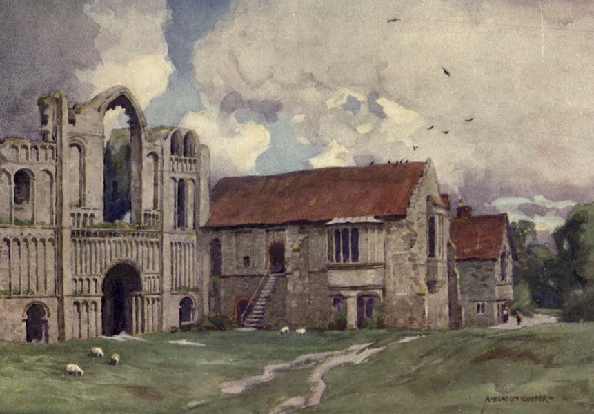 Norfolk and Suffolk Painted and Described - Castleacre Priory, Norfolk (1921)