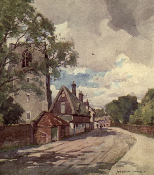 Norfolk and Suffolk Painted and Described - East Dereham, Norfolk (1921)