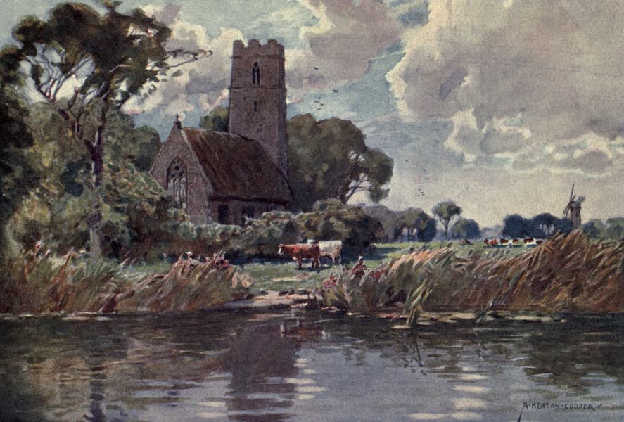 Norfolk and Suffolk Painted and Described - Irstead Church, Norfolk (1921)