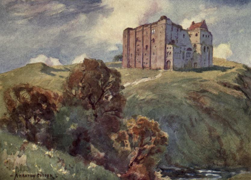 Norfolk and Suffolk Painted and Described - Castle Rising, Norfolk (1921)