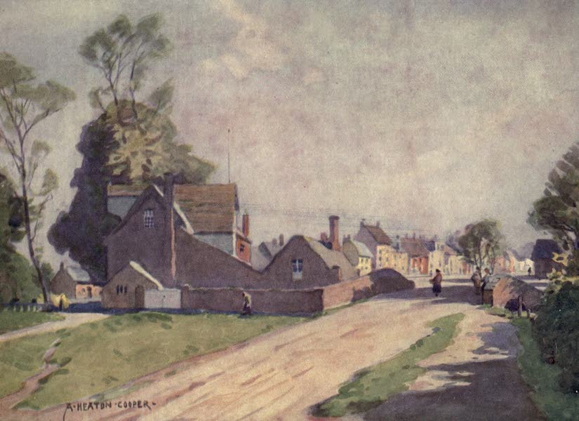 Norfolk and Suffolk Painted and Described - Long Melford, Suffolk (1921)