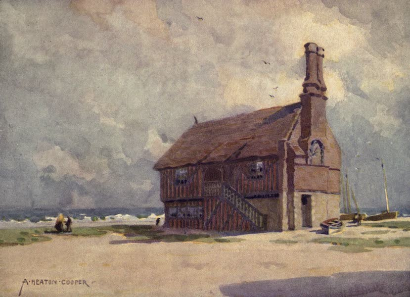 Norfolk and Suffolk Painted and Described - The Old Moot Hall, Aldeburgh, Suffolk (1921)