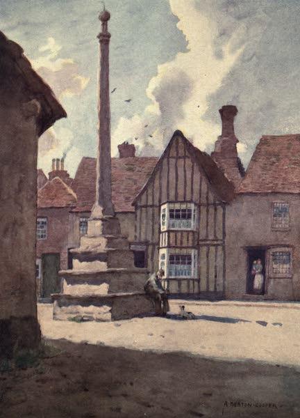 Norfolk and Suffolk Painted and Described - Lavenham Market Cross, Suffolk (1921)