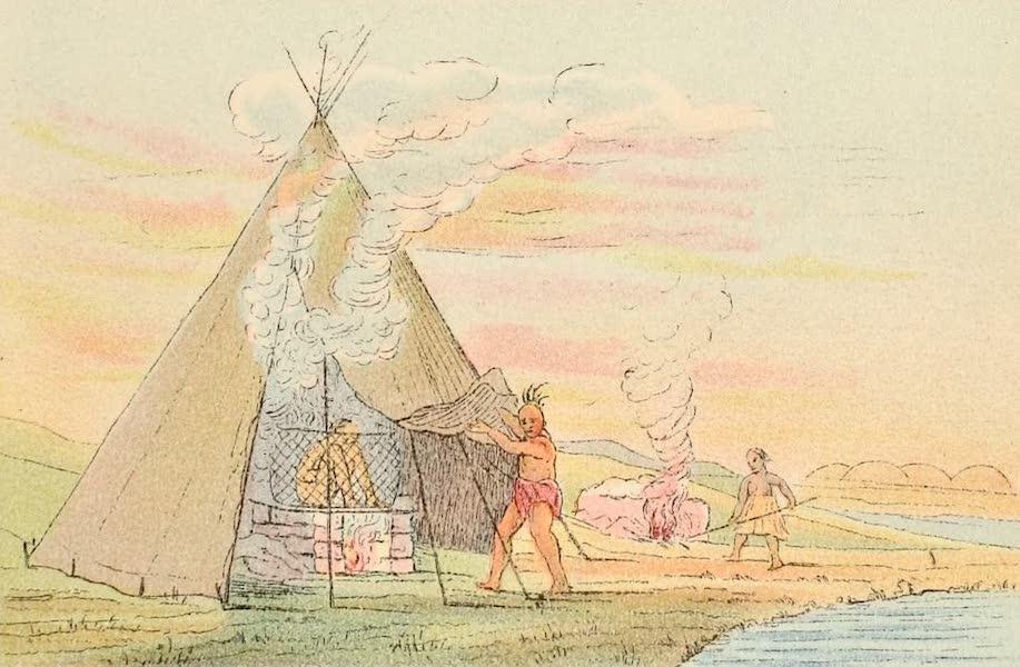 North American Indians Vol. 1 - Fig. 71 (1926)