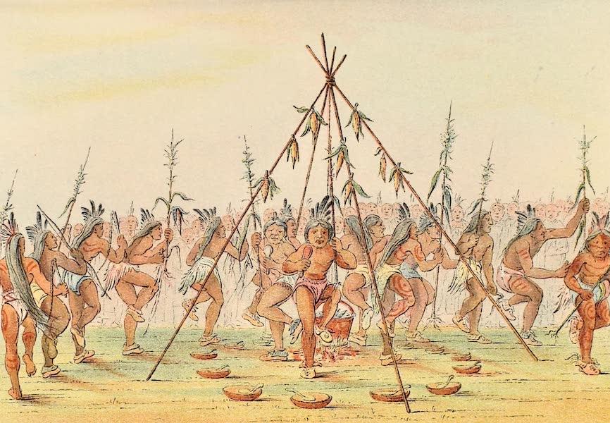 North American Indians Vol. 1 - Fig. 75 (1926)