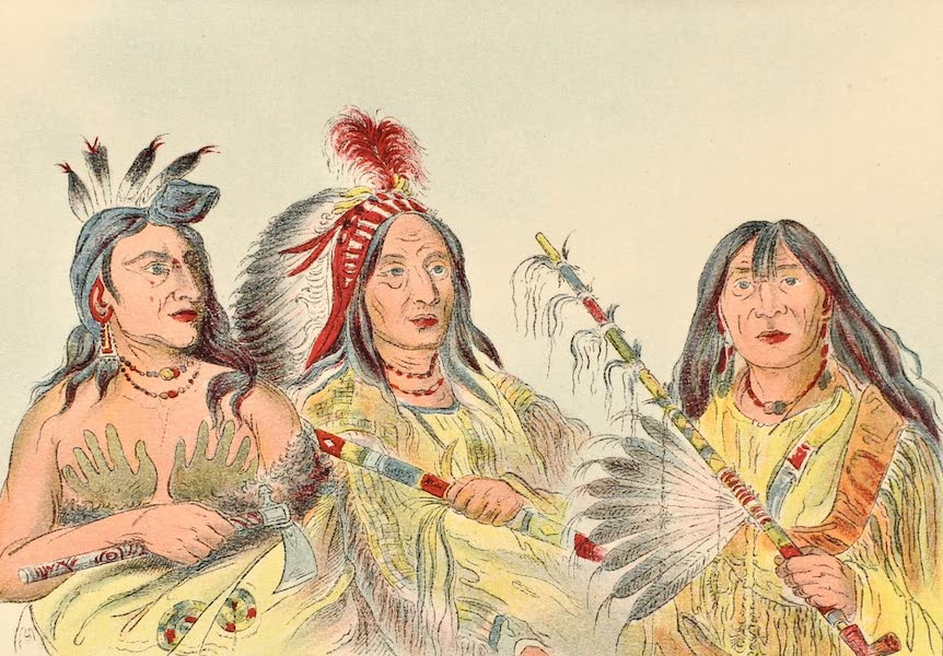 North American Indians Vol. 2 - Figs. 273, 274, 275 (1926)