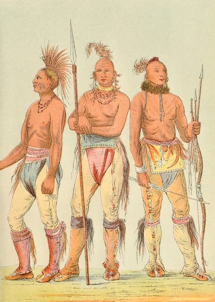 North American Indians Vol. 2 - Figs. 154, 155, 156 (1926)