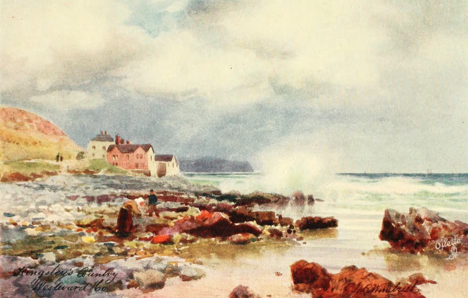 North Devon Painted and Described - The Beach - Westward Ho (1906)