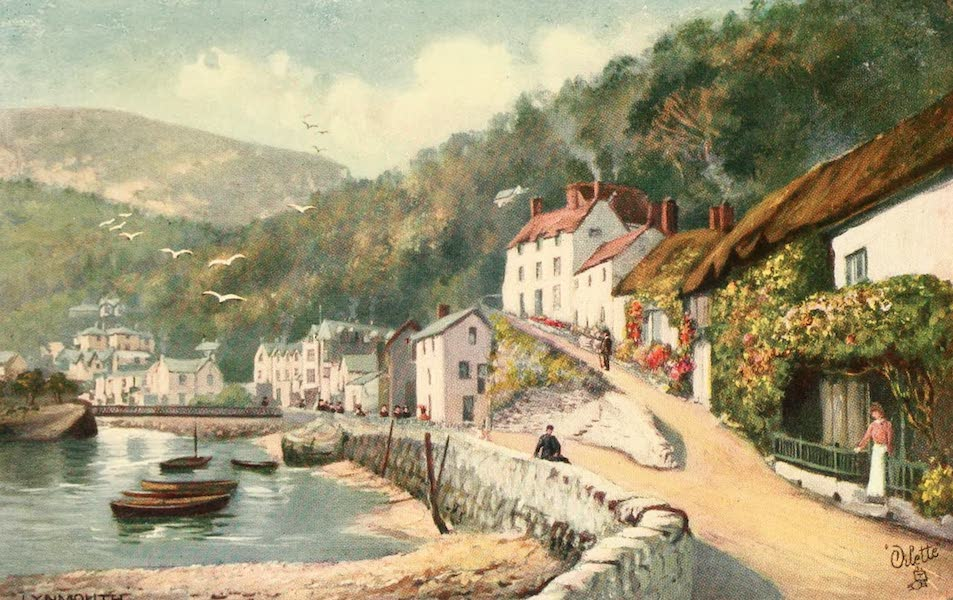 North Devon Painted and Described - Lynmouth (1906)