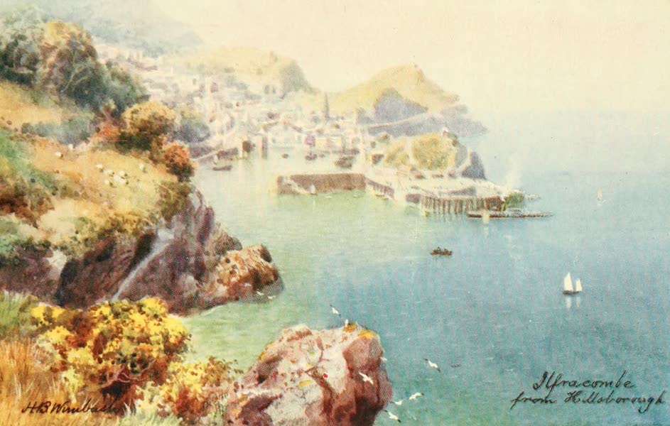 North Devon Painted and Described - Ilfracombe from Hillsborough (1906)