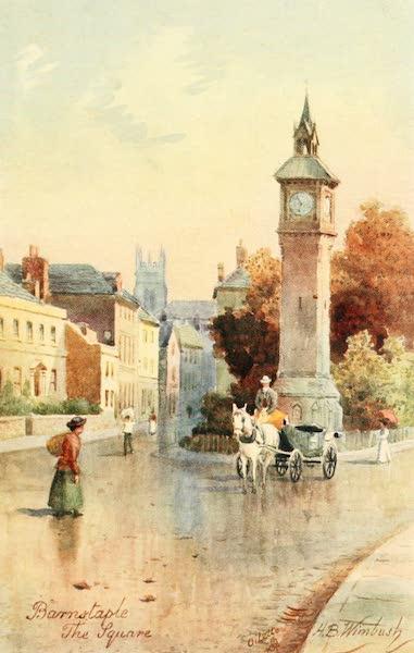 North Devon Painted and Described - The Square, Barnstaple (1906)