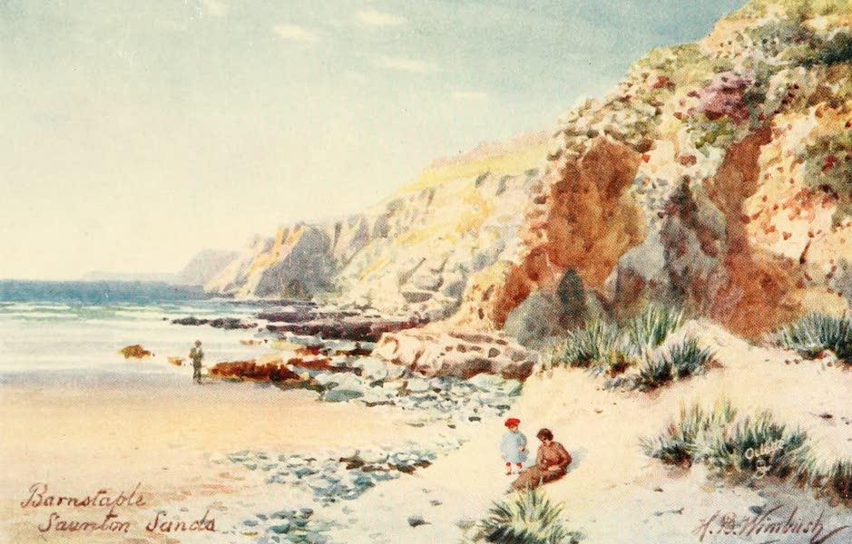 North Devon Painted and Described - Saunton Sands, Barnstaple (1906)