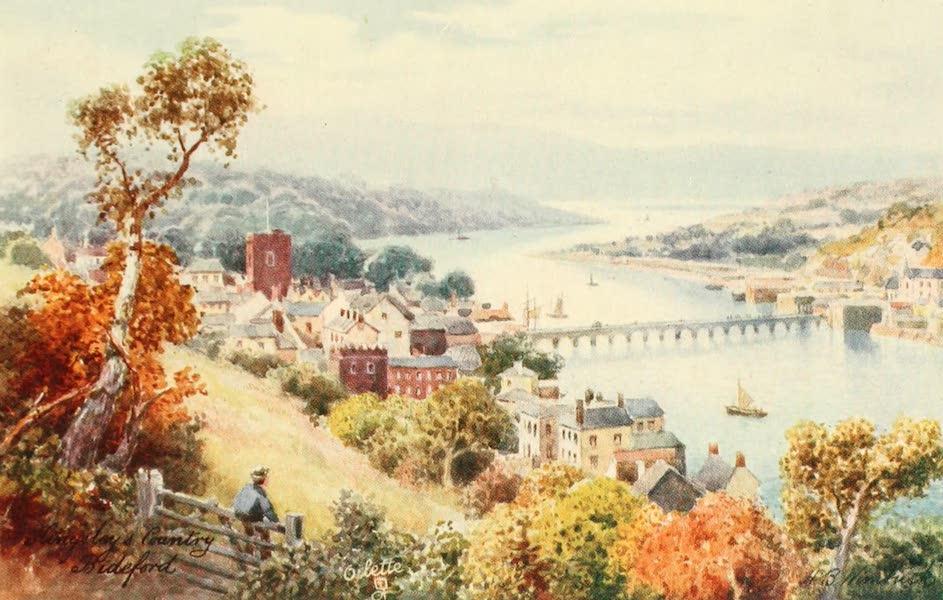 North Devon Painted and Described - Bideford and Bridge (1906)