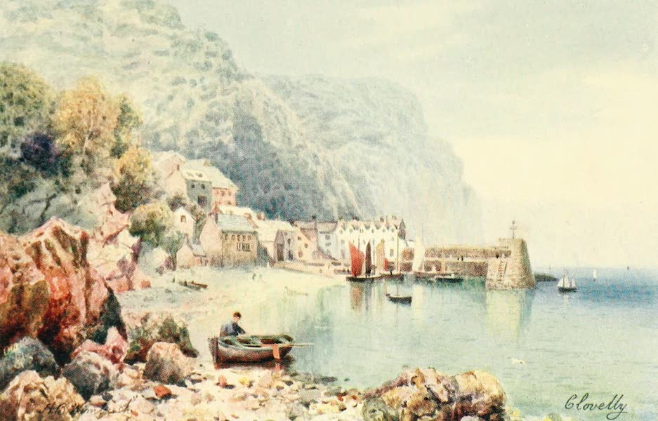 North Devon Painted and Described - Clovelly (1906)