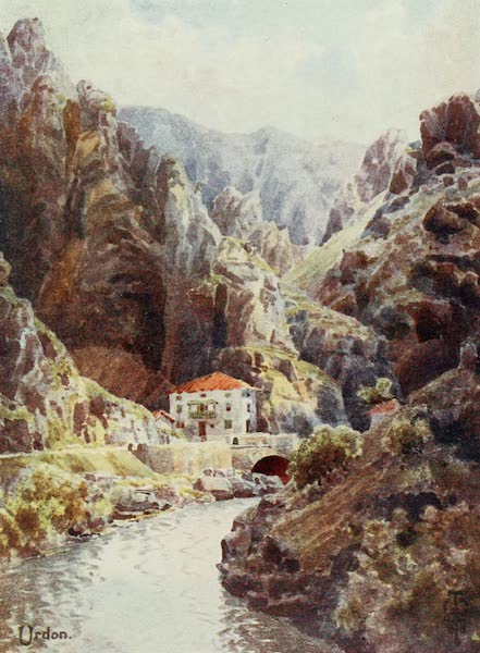 Northern Spain, Painted and Described - The Deva Gorge. Urdon (1906)