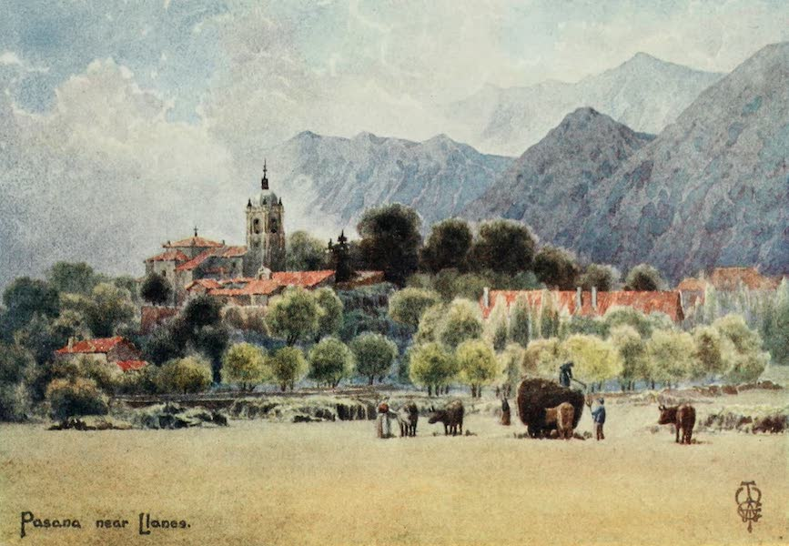 Northern Spain, Painted and Described - Pasana. An Asturian Mountain Village (1906)