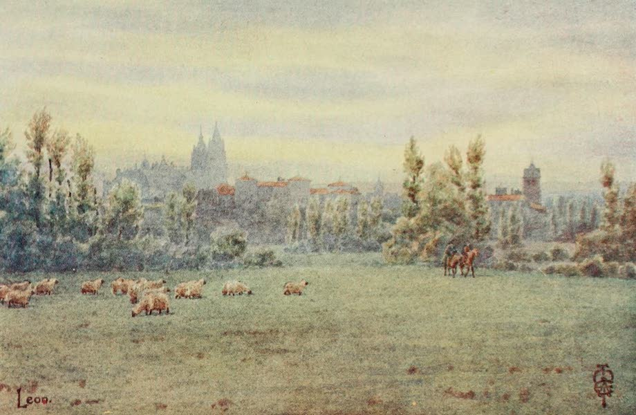 Northern Spain, Painted and Described - Leon. From the Pajares Road (1906)