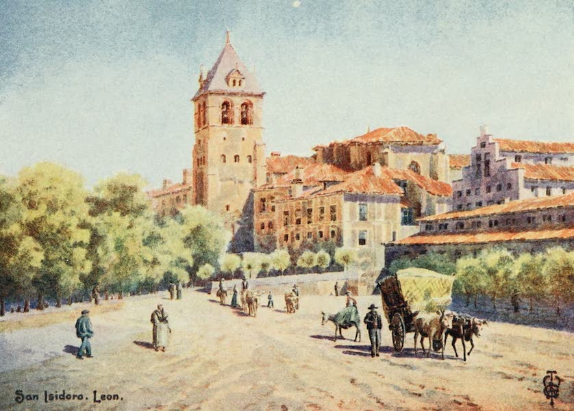 Northern Spain, Painted and Described - Leon. Church of San Isidoro (1906)