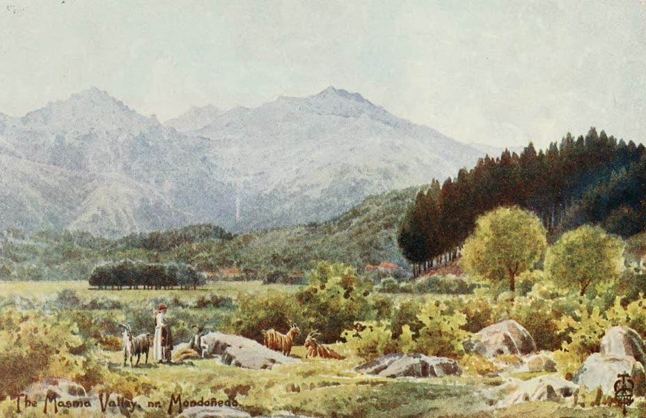 Northern Spain, Painted and Described - The Masma Valley. Near Mondonedo (1906)