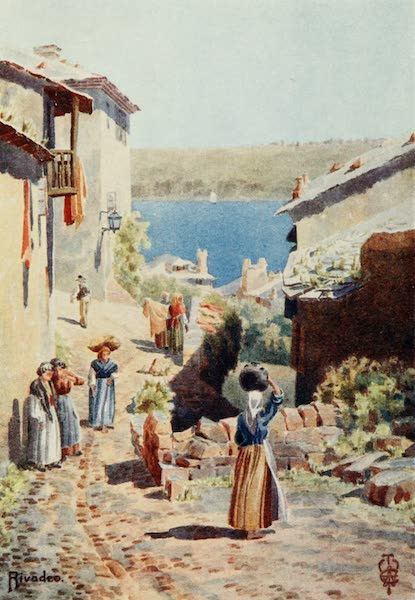 Northern Spain, Painted and Described - Rivadeo. An Approach to the Harbour (1906)