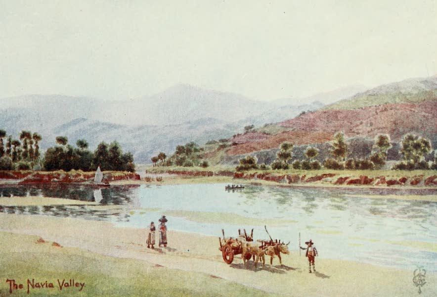 Northern Spain, Painted and Described - The Navia Valley (1906)
